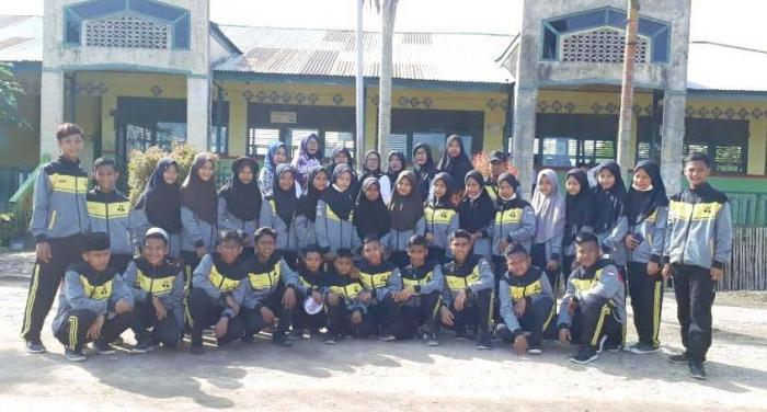 Pelepasan Kontingen Pramuka ke Jambore Ranting Kecamatan Nipah Panjang