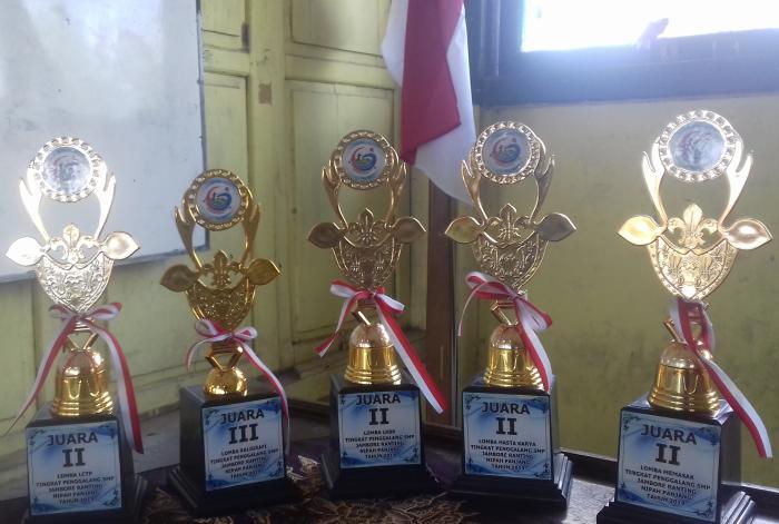 Jambore Ranting Nipah Panjang Tahun 2019 berakhir, kontingen MTs N 1 Tanjung Jabung Timur meraih beberapa prestasi