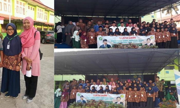 Siswi MTs N 1 Tanjung Jabung Timur berhasil raih Juara III pada KSM Tingkat Propinsi
